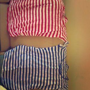 2 medium striped Old Navy Maternity shirts